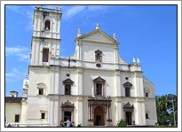 Se Cathedral Goa - India