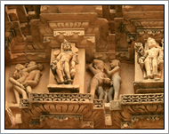 Khajuraho Tempels