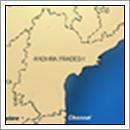 Kaart Andhra Pradesh - India