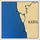 Kaart Goa - India