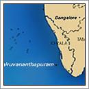 Kaart - Kerala India