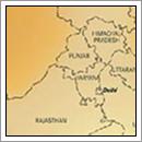 Kaart Punjab - India