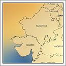 Kaart Rajasthan - India