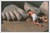Jain heilige Gomateswara - India