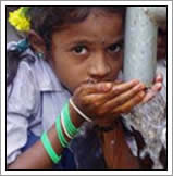water meisje india