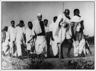Gandhi geweldloze mars